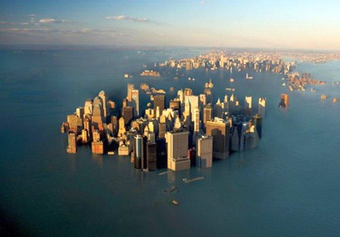 Уровень воды в мировом океане повышается