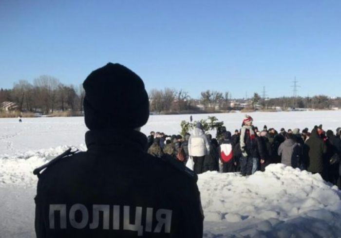 В полиции рассказали, как в Харькове прошло Крещение