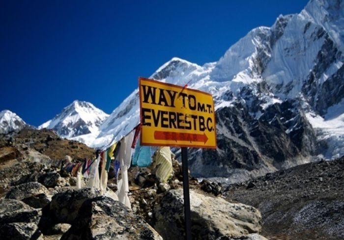 Туристам запретили подниматься на Эверест