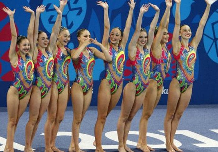 Харьковские синхронистки успешно выступили на чемпионате Украины
