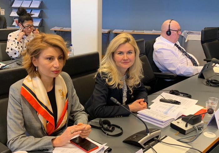 Юлия Светличная принимает участие в заседании Бюро Конгресса региональных властей Совета Европы