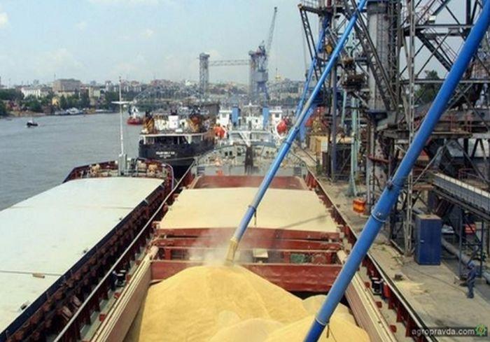 Украина стремительно наращивает экспорт агропродукции