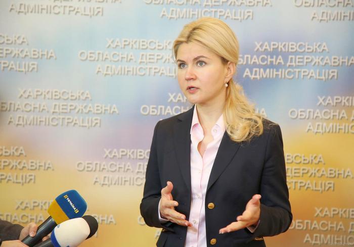 Юлия Светличная представила план развития Харьковской области