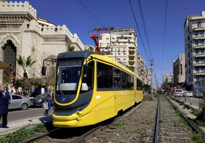 В Египте вышел на линии новейший украинский трамвай (фото)