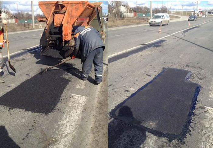 В Харьковской области отремонтировали дороги: список