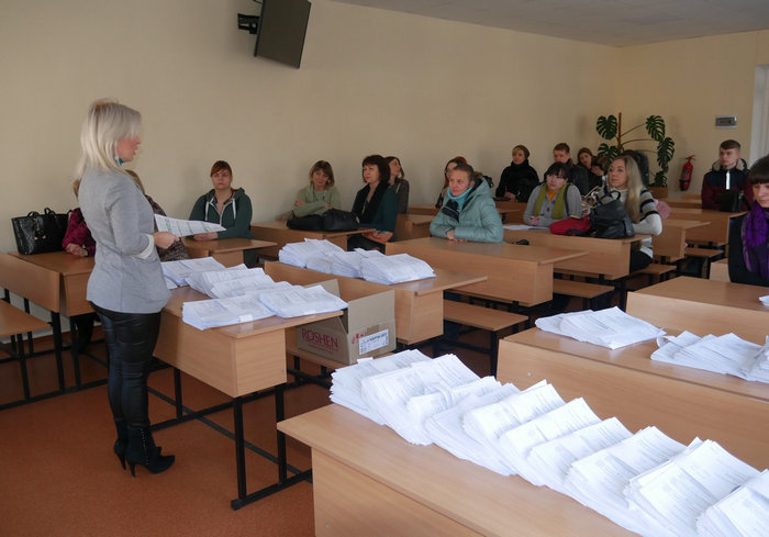 В семи городах Харьковской области проводят пробное внешнее независимое оценивание