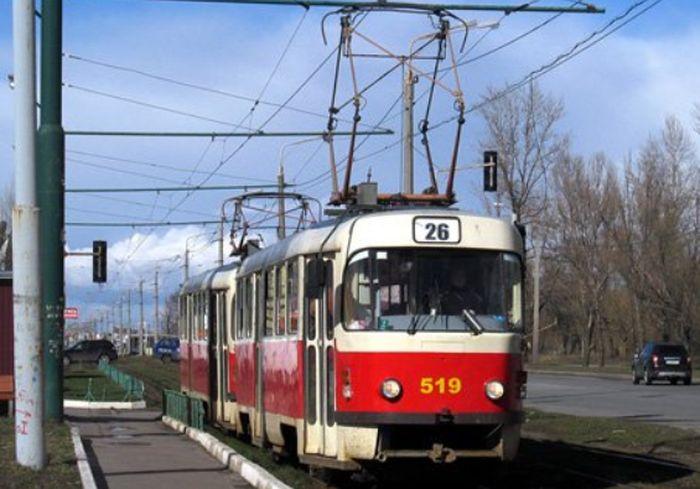 В Харькове временно изменили маршруты движения трамваев
