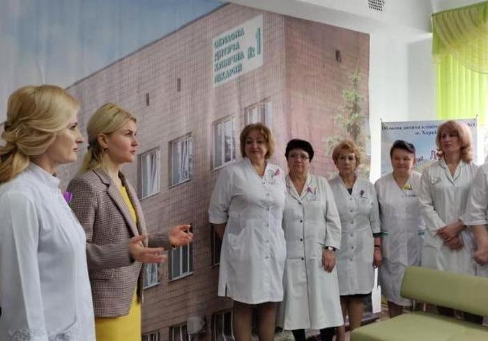 Харьковская областная детская больница получила современный рентген-аппарат