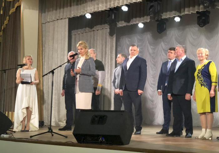 Юлия Светличная побывала на открытии Дома культуры в Люботине: фоторепортаж