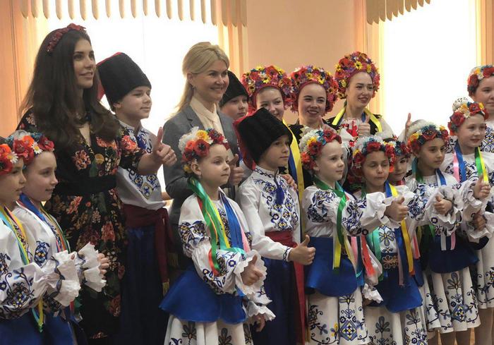 Юлия Светличная встретилась с жителями поселка Ударное Харьковского района