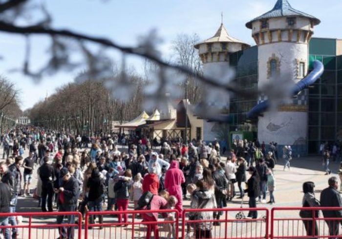 Харьковским школьникам предложили развлечься на каникулах в парке Горького