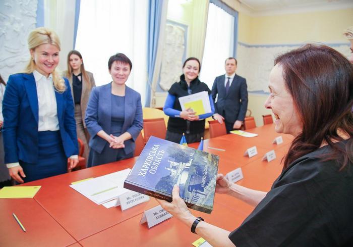 Юлия Светличная встретилась с делегацией Представительства ООН в Украине