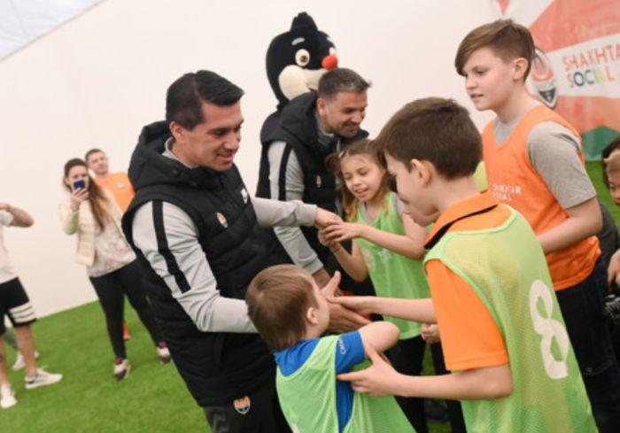 «Шахтер» провел в Харькове занятия для особенных детей