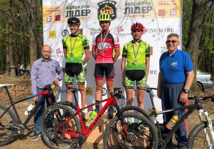 Харьковские велосипедисты продолжают успешные выступления на национальных стартах