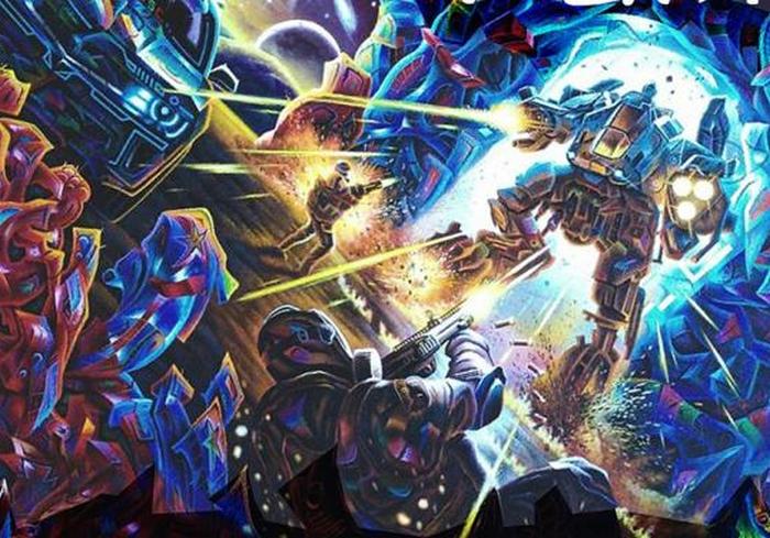 В Харькове работает выставка фантастической живописи