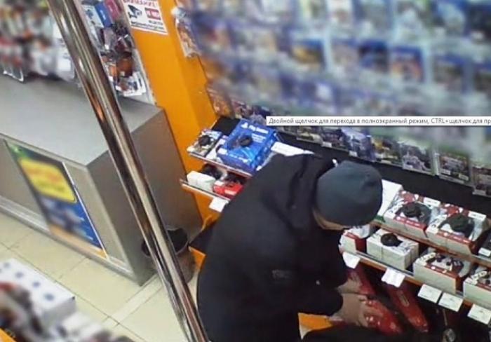 В Харькове ограбили магазин электроники