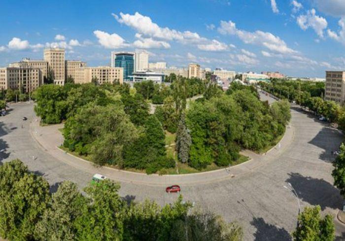 В центре Харькова появится «сухой» фонтан