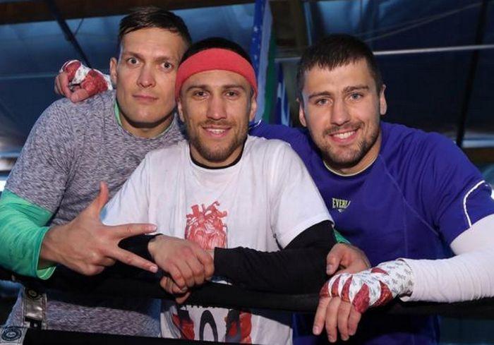Промоутер: Усик, Ломаченко и Гвоздик мечтают провести бой на «Олимпийском»