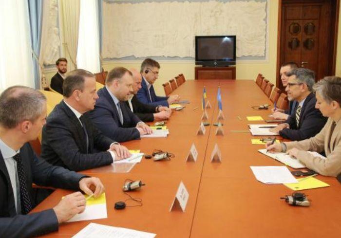 Заместитель главы ХОГА встретился с делегацией ООН