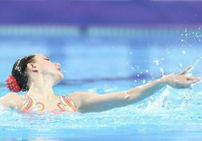 Харьковские синхронистки блестяще выступили в Мировой серии