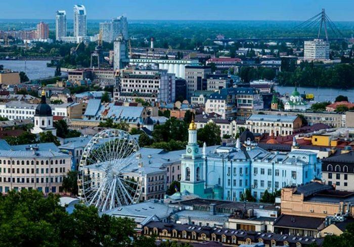 Киев вошел в «десятку» городов с красивейшими видами