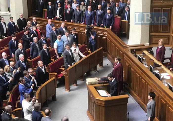 Владимир Зеленский принес присягу президента Украины