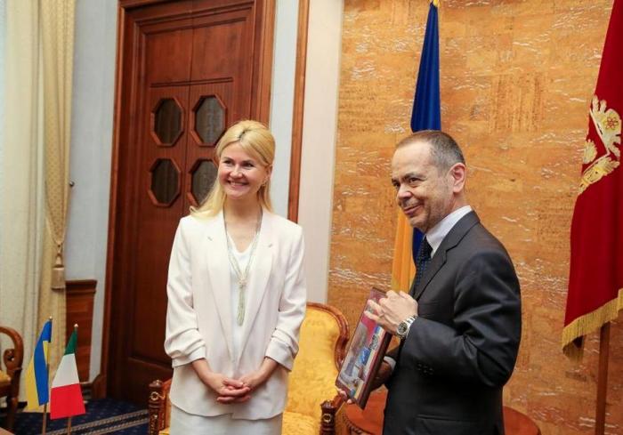 Юлия Светличная и Давиде Ла Чечилия обсудили перспективы сотрудничества Харьковской области и Италии