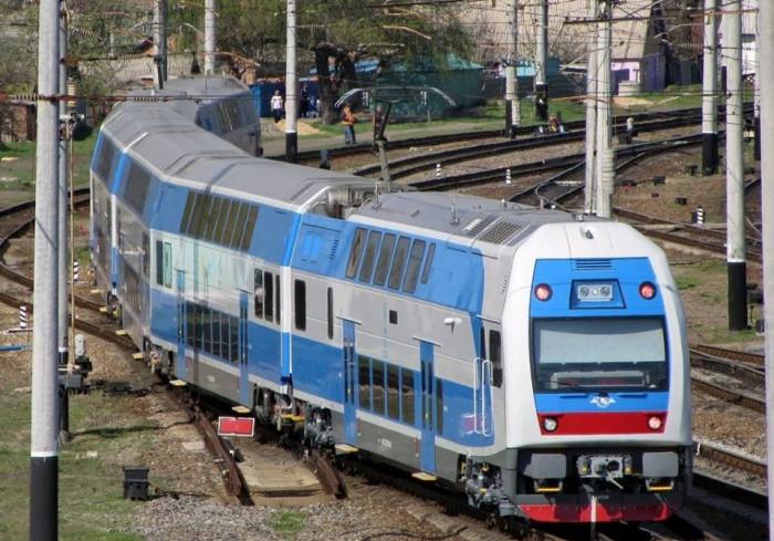 «Укрзалізниця» запускает двухэтажный поезд «Харьков – Геническ»