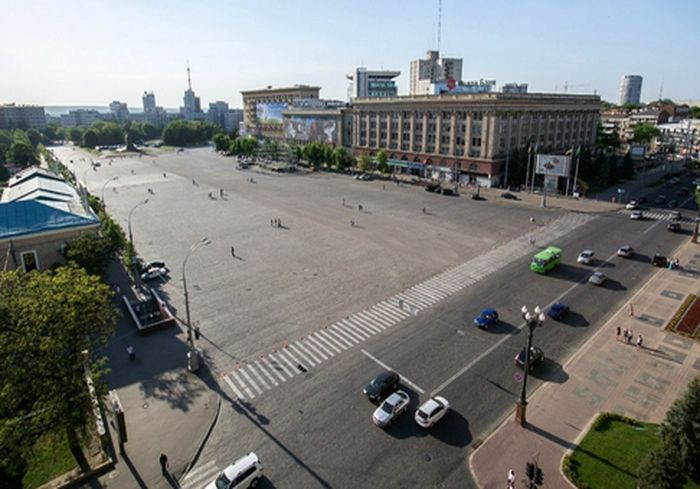 Харьковчане хотят сделать пешеходную зону прямо в «сердце» города