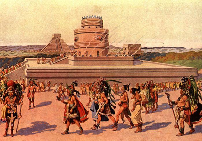 Ученые предложили новую версию исчезновения цивилизации майя (фото)