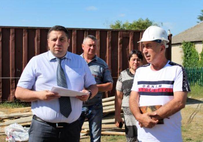 В селе под Харьковом строят современную медамбулаторию