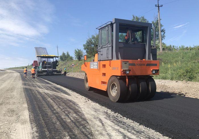 На Харьковщине продолжают восстанавливать дороги