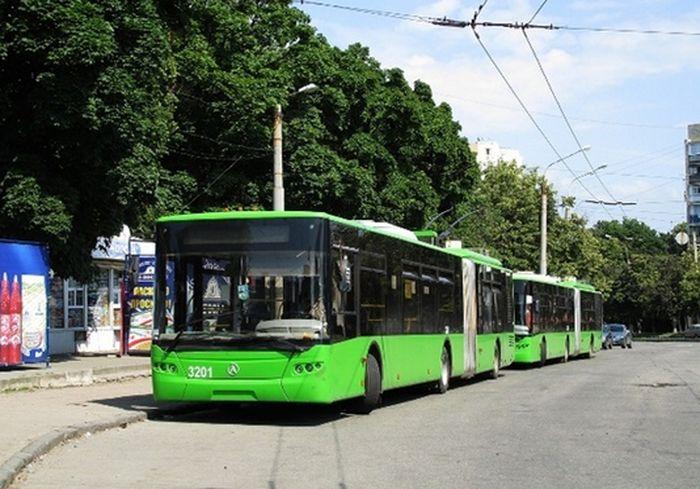 Харьковчане недовольны действиями водителей троллейбусов