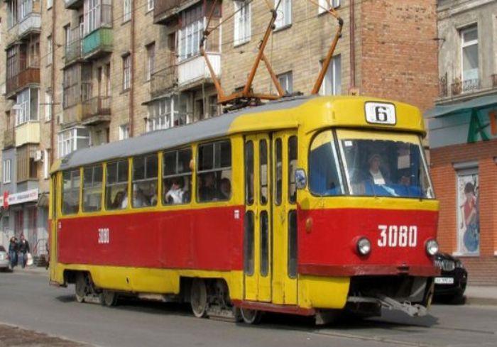 В центре Харькова возобновляется движение трамваев двух маршрутов
