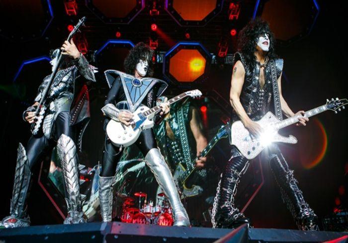 В Киеве впервые выступила легендарная американская рок-группа