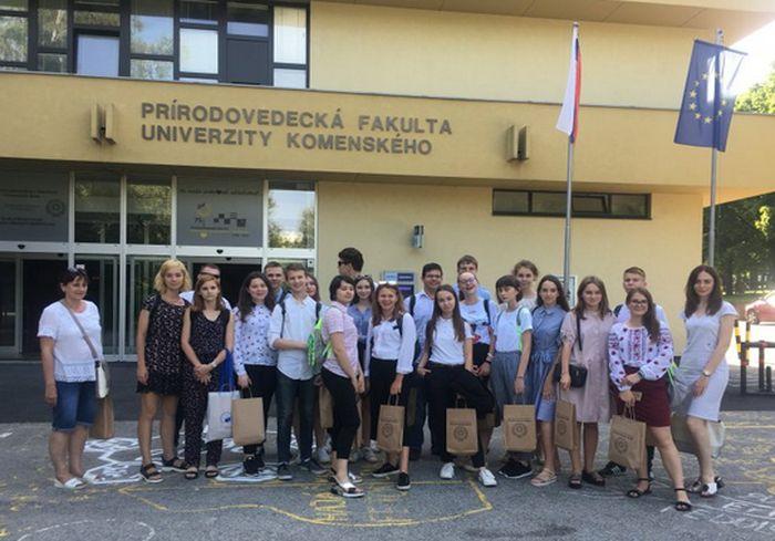 Харьковские старшеклассники побывали в вузах Словакии