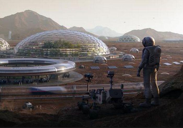 Ученые предложили накрыть Марс куполом
