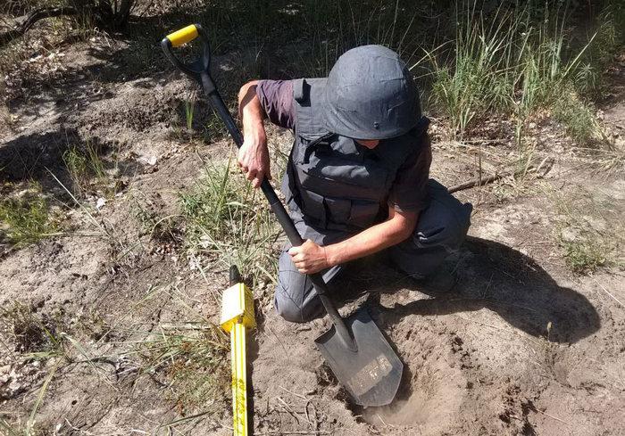 В Харьковской области нашли арсенал