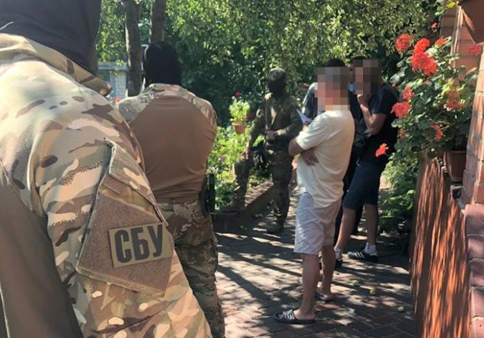 Харьковские силовики задержали торговца оружием