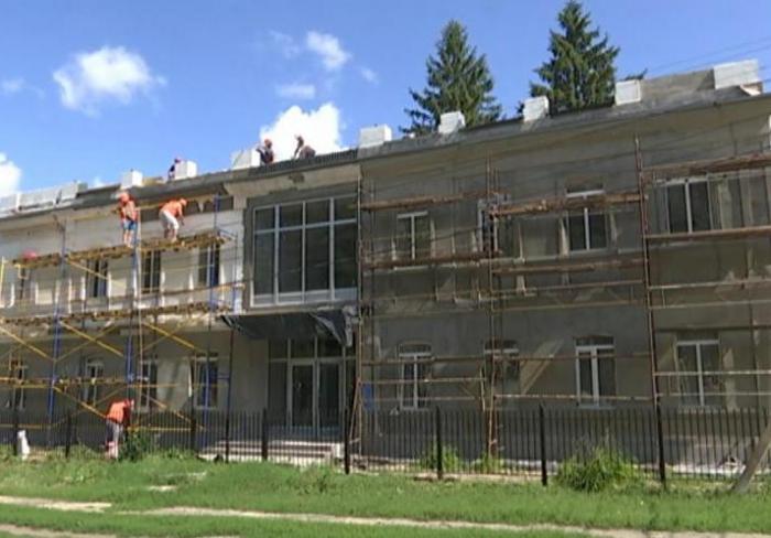 В Золочевской музыкальной школе завершают реконструкцию