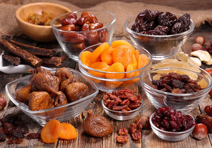 Фрукты и ягоды требуют разного времени сушки