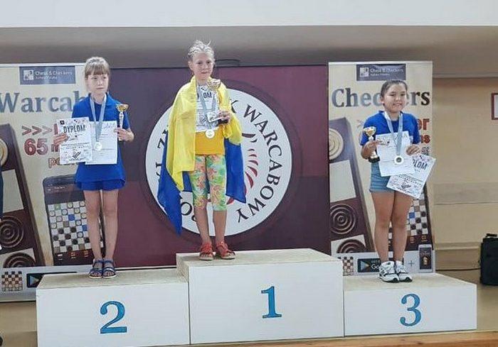 Харьковская школьница стала чемпионкой Европы по шашкам
