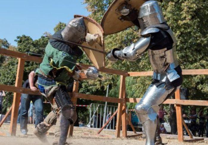 Харьковчане смогут увидеть рыцарский турнир