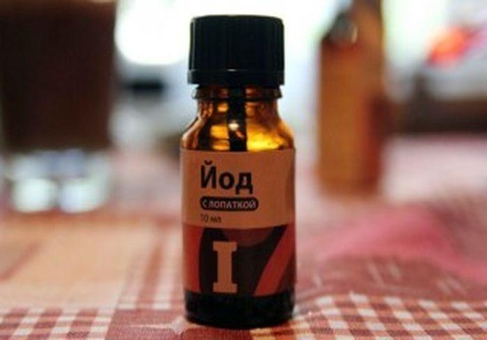 Медики советуют отказаться от использования йода для обработки ран