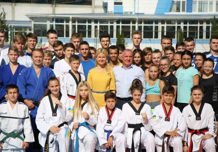 Воспитанники харьковского училища физкультуры уже готовятся в новых условиях – Юлия Светличная