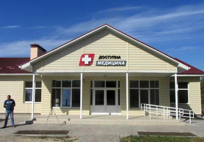 В селе на Харьковщине построили новую медамбулаторию
