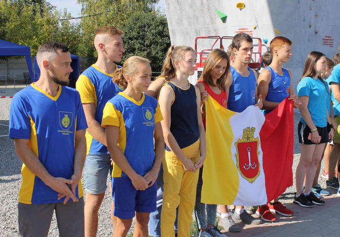 В Харькове прошел чемпионат Украины по скалолазанию