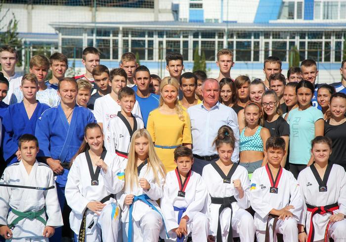 Юлия Светличная: условия для занятий спортом должны быть у каждого