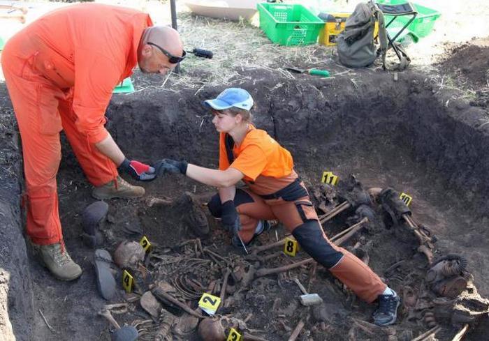 На Харьковщине найдены могилы воинов