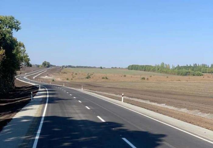 Дорога на Лозовую отремонтирована